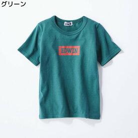 (エドウィン)EDWIN ボックスロゴTシャツ キッズRight-on,ライトオン,65191754,19春夏新作 半袖 子供 男の子 女の子 100cm 110cm 120cm 130cm 140cm 着回し