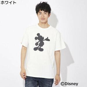 (ディズニー)DISNEY シャドウプリントTシャツ(...