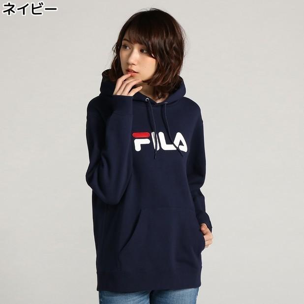 (フィラ)FILA ロゴ刺しゅうスウェットプルオーバー ウィメンズRight-on,ライトオン,FL3261,FILA,フィラ,
