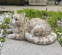 猫の置物 さび御影石 高さ15cmみかげ石 さび猫 虎猫 ねこ ネコ 子猫 小猫 黒猫 クロネコ くろねこ インテリア 置物 オ…