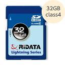 SD 32GB SDHCカード class4 SDHC32GB class4 RiDATA 在庫処分価格 アウトレット メール便可=お届け日目安:発送後7-10日