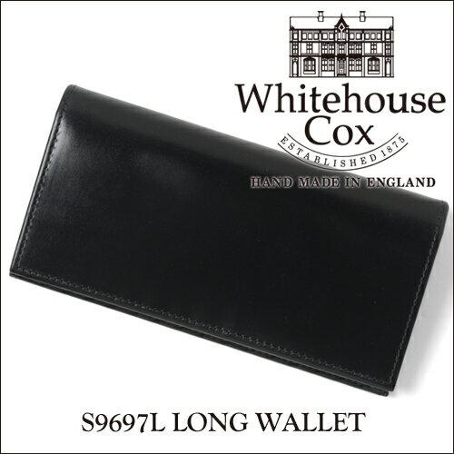 ポイント10倍【正規品】ホワイトハウスコックス 2つ折り長財布 S9697L/LONG WALLETブライドルレザー/ブラック【Whitehouse Cox/ホワイトハウスコックス】【あす楽対応_関東】