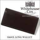 【正規品】ホワイトハウスコックス 2つ折り長財布 S9697L/LONG WALLETブライドルレザー/HAVANA ハバナ(ダークブラウン)【Whitehouse Cox/ホワイトハウスコックス】【