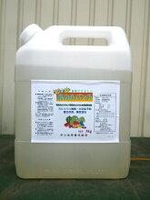 [乳酸カルシウム][家庭菜園][ミネラル][野菜][花][植物][カルシウム][ガーデニング][農業用][園芸][[液体肥料]][液肥][葉面散布][有機酸カルシウム]【乳カルパンチ】Ca10%-Mn0.1%-B0.3%-Mg1%[5kg]