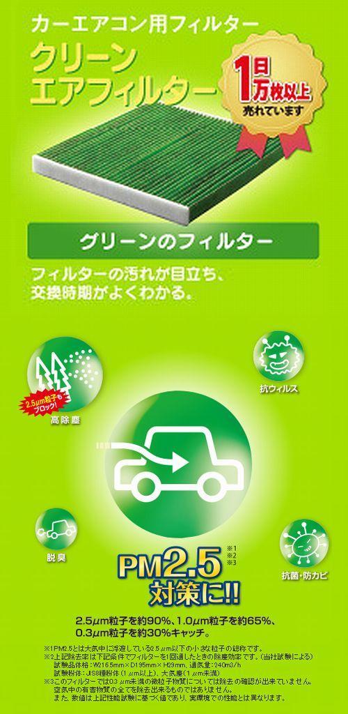 ヴォクシーハイブリッド(ZWR80)(2014.2-)デンソー【クリーンエアーフィルター】