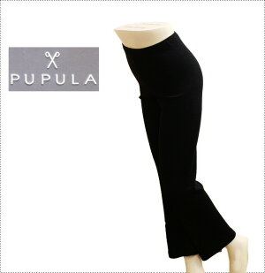 PUPULA ププラ パンツ 30代 ファッション レディース 体型カバー (レディース/カットソー/ボトム/パンツ/)