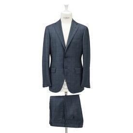 RING JACKET リングヂャケットModel No-184AH S-172HLORO-PIANA ロロ ピアーナ3Bスーツ【ブルー】