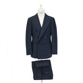 RING JACKET リングヂャケットModel No-287 S-182FOX BROTHERSフォックスブラザーズスーツ【ネイビー】
