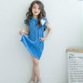 b11a58cbfbe4d 韓国 子供服 女の子 キッズ ワンピース コサージュ サマーワンピース 花 フラワー 子供服 ワンピース フォーマル 半袖