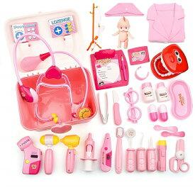 お医者さんセット お医者さんごっこ 知育玩具 おもちゃ 光と声 聴診器 むし歯 男の子 女の子 子供のお誕生日プレゼント クリスマス 贈り物