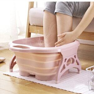 足湯バケツ 折りたたみ 足湯器 足湯たんぽ 折り畳み可能 足湯ばけつ 足の冷え対策 疲労軽減 持ち運び収納