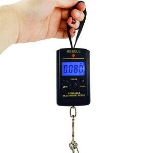 吊りはかり 釣り 荷物 旅行 電子はかり 携帯式デジタル スケール 最大40kgまで量れる?