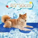 ペット クールマット ひんやりシート 65*50cm 中型犬 小型犬 猫 ウサギ用 夏用ペットベッド ひえひえ爽快冷却シート …