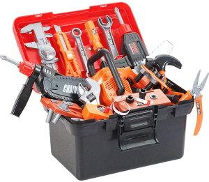 電動修理キット ままごと遊び 修理キット 工具おもちゃセット 作業道具 修理キット43個セット 知育玩具 工具セット ツールおもちゃ おままごと おもちゃ キッズツールセット 収納ボックス