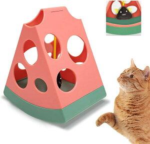 猫 おもちゃ 磁気浮上 猫じゃらし電動 羽のおもちゃ タッチセンサー付き 猫用品 運動不足改善 ストレス解消 安全素材 鈴音ボール付き