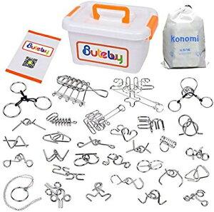 ちえのわ 知恵の輪 リングパズル 脳トレ 謎解き 脳ティーザー パズル スチールパズル 難易度 レベル 知育玩具 おもちゃ 子供 大人