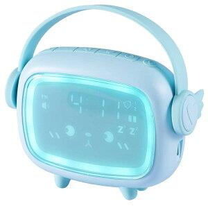 目覚まし時計デジタルデスクトップ時計かわいい温度計目覚まし時計スヌーズ機能サウンドセンサーLED輝度調整USB電源ナイトライト子供女の子お祝いギフト室内装飾