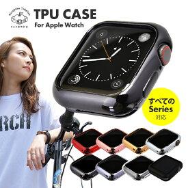 アップルウォッチ カバー ケース series6 SE 5 4 3 2 1 38mm 42mm 40mm 44mm apple watch TPUケース ソフトケース 傷防止 衝撃 吸収 保護 耐衝撃 薄型 シンプル