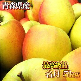 【最高級品】青森県産 名月5kg(約16〜18玉入)