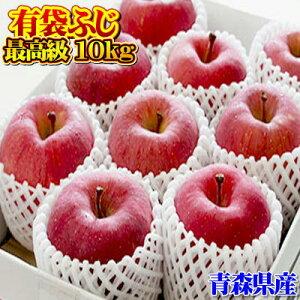 贈答用『有袋ふじ』最高級品10kgダンボール・フルーツキャップ詰(約32〜36玉入)