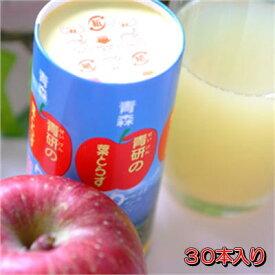 【送料込】葉とらずりんご紙パック195g×30本入