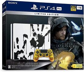 新品!PlayStation 4 Pro DEATH STRANDING LIMITED EDITION(HDD:1TB) CUHJ-10033 箱に傷あり