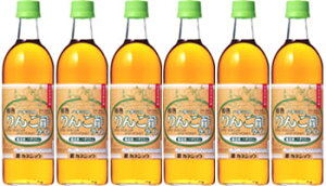 【送料無料】カネショウの「ハチミツ入りんご酢ライト6本」