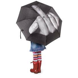 【art lebedev】 ファック ザ レイン アンブレラ 折り畳み傘