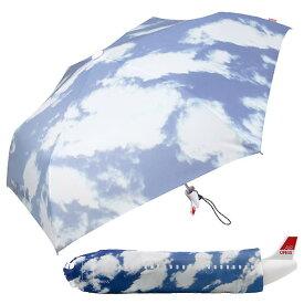 【AIR OFESS】エアーオフェス 飛行機型 折り畳み傘 スカイ ジェット機アンブレラ