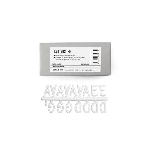 【Letterboard】レターボード用 文字 キャラクター サイズM 19mm