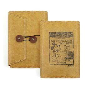 ambiente【アンビエンテ】オールド ミッキーマウス ワックス ペーパー クロス 文庫本ブックカバー