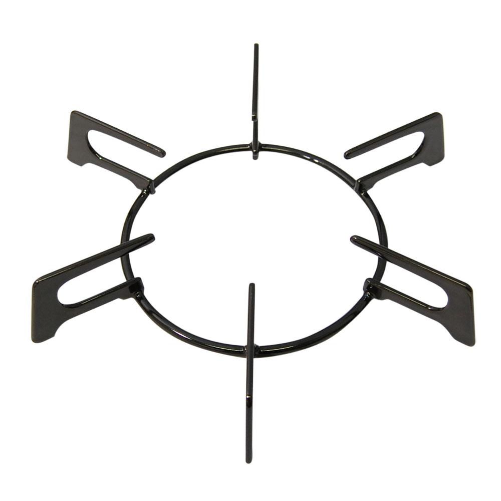 ごとく【大サイズ】※左右共通(黒) リンナイ テーブルコンロ ビルトインコンロ 部品