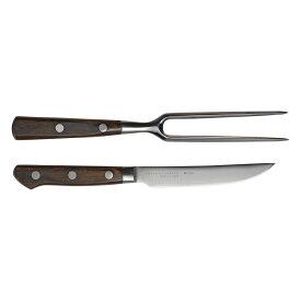 《大人の鉄板》 ステーキナイフ&ミートフォーク【製造元出荷】