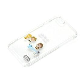 STAR WARS iPhone SE(2020)/8/7用 クリアケース PG-DCS153SW / 8-Bit/C