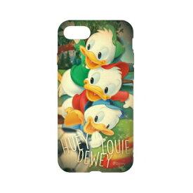 ディズニーキャラクター / キャラクターオーバーレイシリーズ iPhone8/7対応ソフトケース DN-397C / ヒューイ&デューイ&ルーイ
