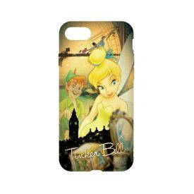 ディズニーキャラクター / キャラクターオーバーレイシリーズ iPhone8/7対応ソフトケース DN-397F / ピーター・パン