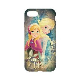 ディズニーキャラクター / キャラクターオーバーレイシリーズ iPhone8/7対応ソフトケース DN-397L / アナと雪の女王