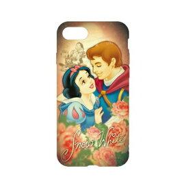 ディズニーキャラクター / キャラクターオーバーレイシリーズ iPhone8/7対応ソフトケース DN-397M / 白雪姫