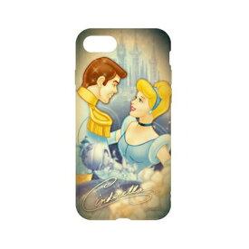 ディズニーキャラクター / キャラクターオーバーレイシリーズ iPhone8/7対応ソフトケース DN-397N / シンデレラ