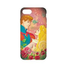 ディズニーキャラクター / キャラクターオーバーレイシリーズ iPhone8/7対応ソフトケース DN-397P / 眠れる森の美女