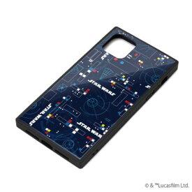 【STAR WARS】iPhone 11 対応ガラスハイブリッドケース PG-DGT19B34SW / [パターン]