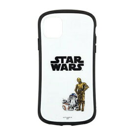 〈STAR WARS〉 iPhone11/XR対応ハイブリッドガラスケース STW-120A / DROID