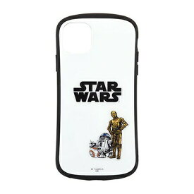 〈STAR WARS〉 iPhone11 Pro Max対応ハイブリッドガラスケース STW-121A / DROID