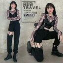 韓国ダンス衣装 レディース 大人ダンス衣装 jazz ジャズ ステージ衣装 かっこいい ブラック 練習着 レッスン着 ヒップ…