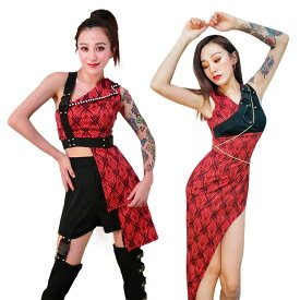 韓国 ダンス衣装 大人 セットアップ レディース ヒップホップ ダンス 衣装 DS ジャッズ おしゃれ 上下 ダンスウェア 演出服 派手 ファッション 送料無料
