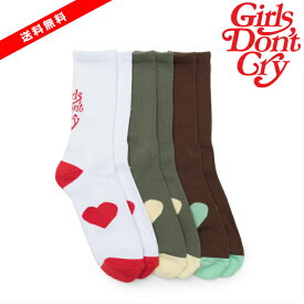 新入荷【公式 正規品】【size:FREE】Girls Don`t Cry Girls Dont Cry Socks ソックス 靴下 ガールズドントクライ girls don't cry ガルドン GDC VERDY 正規品 【中古】 【新古品 未使用品】