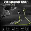 【メール便送料無料】 MOOLSUN Sports Buletooth Headset ワイヤレス イヤホン ブルートゥースイヤホン Bluetooth 4.0...
