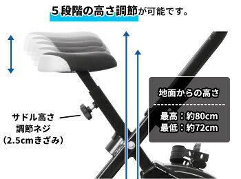 フィットネスバイクルームバイクスピンバイクエアロバイク静音小型サイズフィットネスエクササイズ健康器具家庭用自転車トレーニングRIORESフィットバイクX予約9月上旬入荷予定