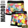 • UNDERWEAR BETONES MACRO ビトーンズ macro underwear boxer briefs Unisex (men and women combined) _ 11008F(ripe)