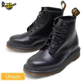 Dr.Martens 101 6EYE BOOT[ブラック](10064001)ドクターマーチン 6ホールブーツメンズ レディース【靴】_11509E(ripe)【送料無料】